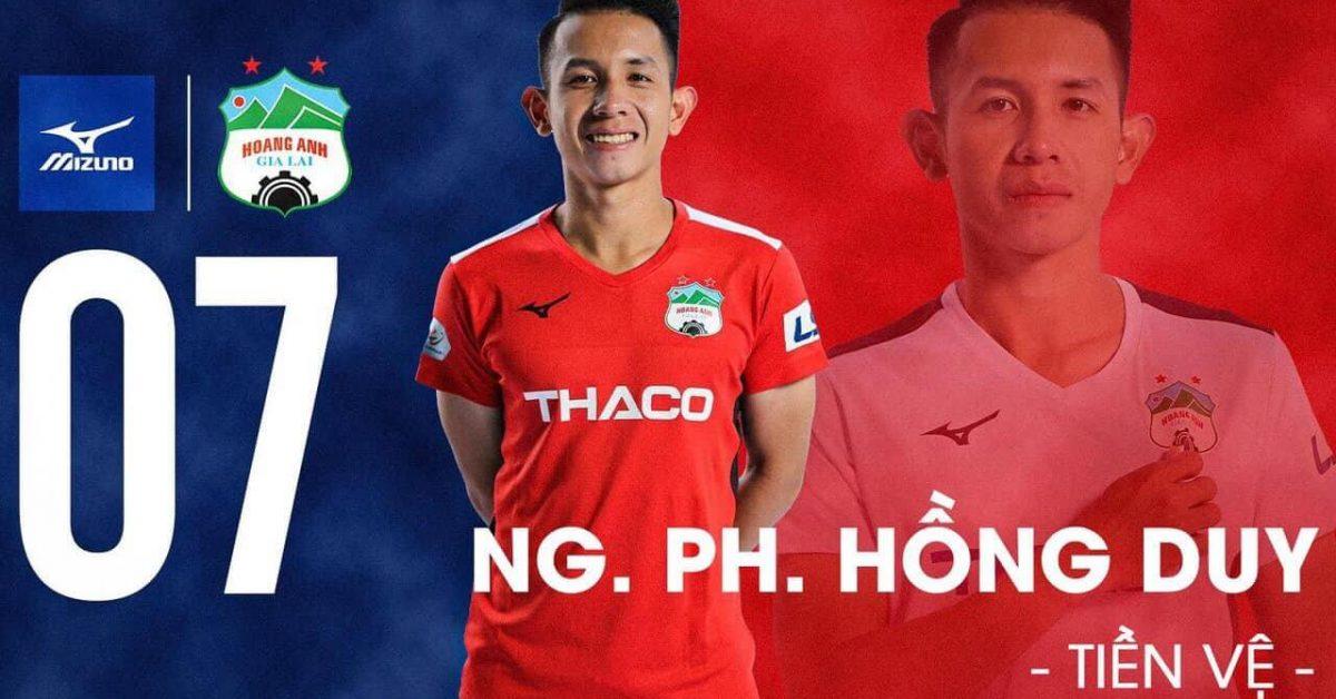 Tiểu sử Nguyễn Phong Hồng Duy – Hậu vệ trái tài hoa